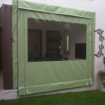 PVC Blind Lime Green